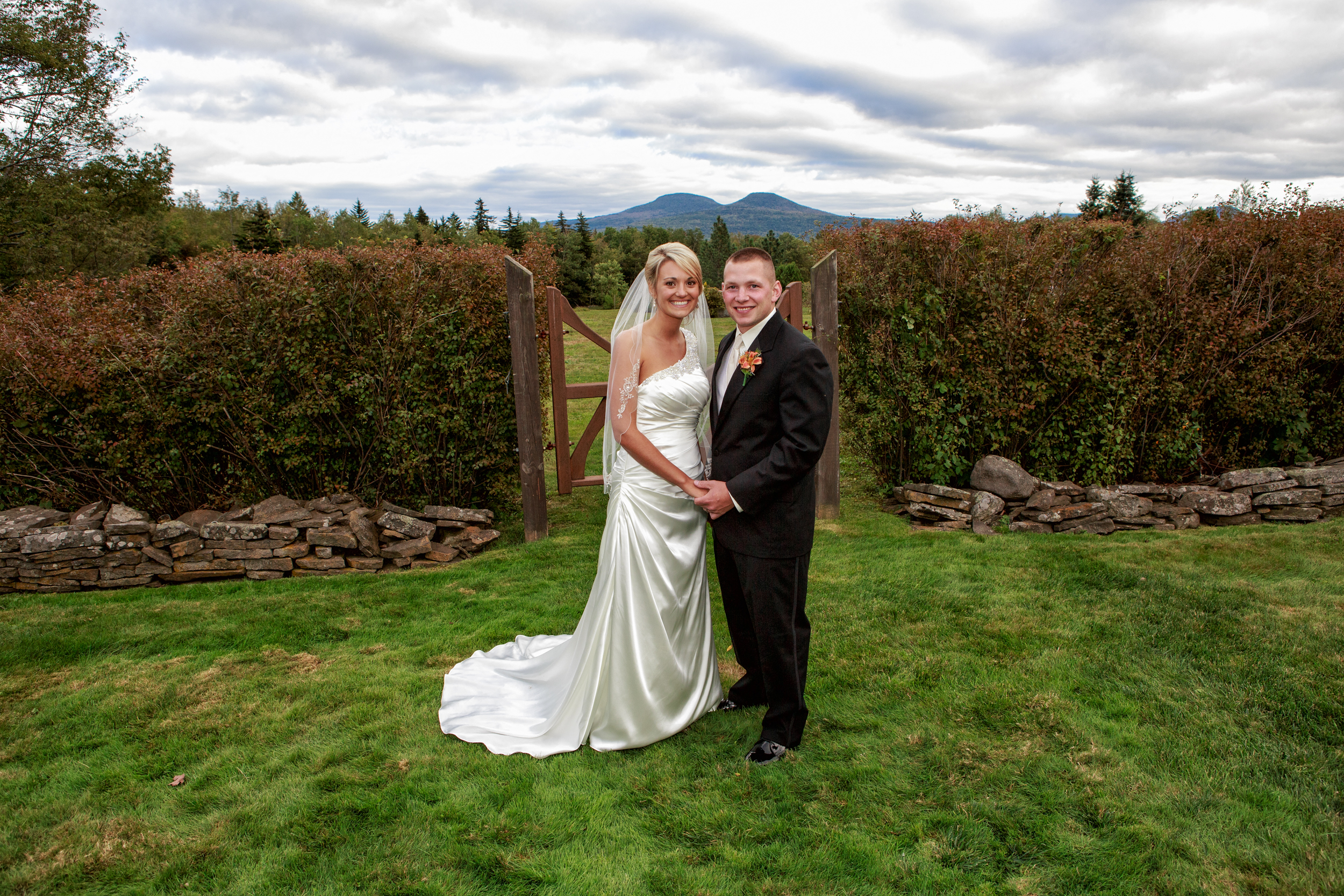 Wedding Portrait in Tannersville NY