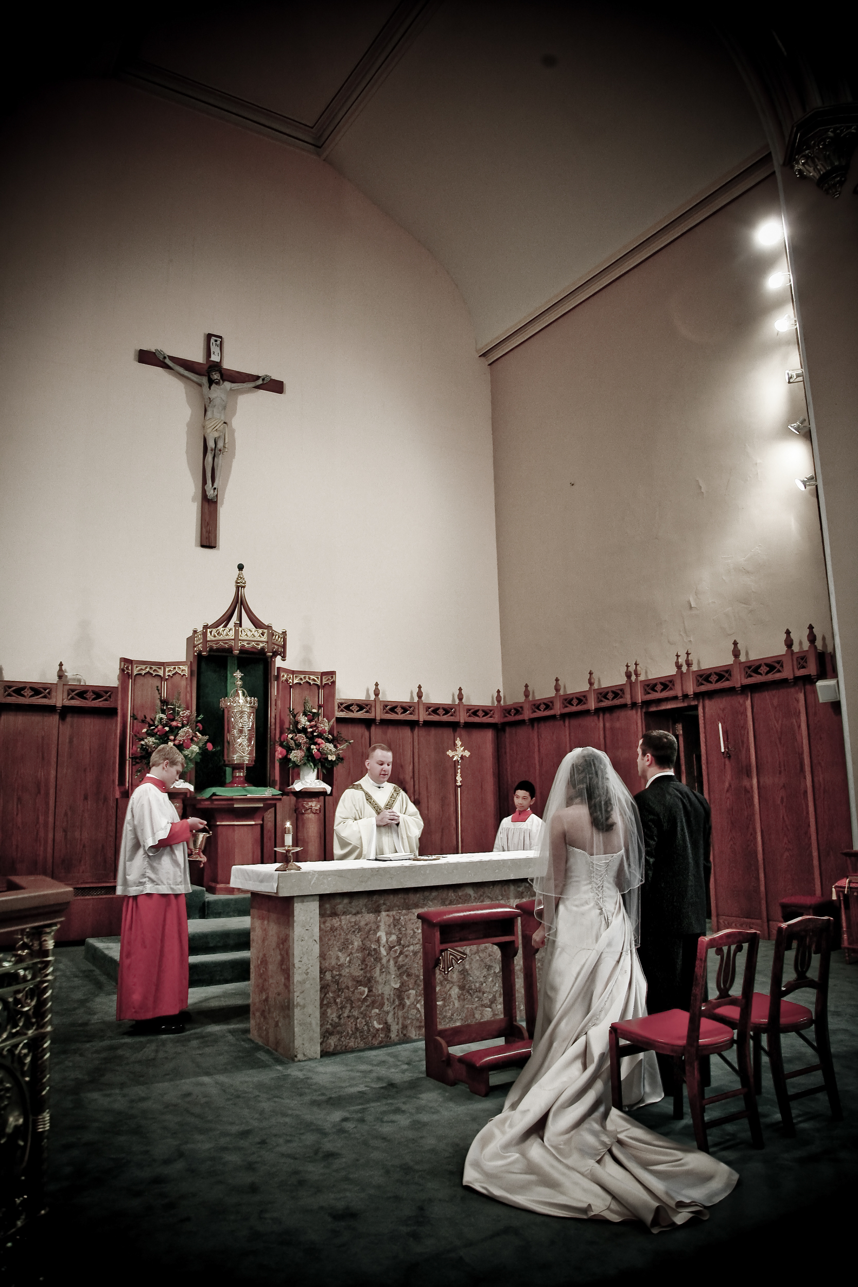 Catholic wedding in the Hudson Valley