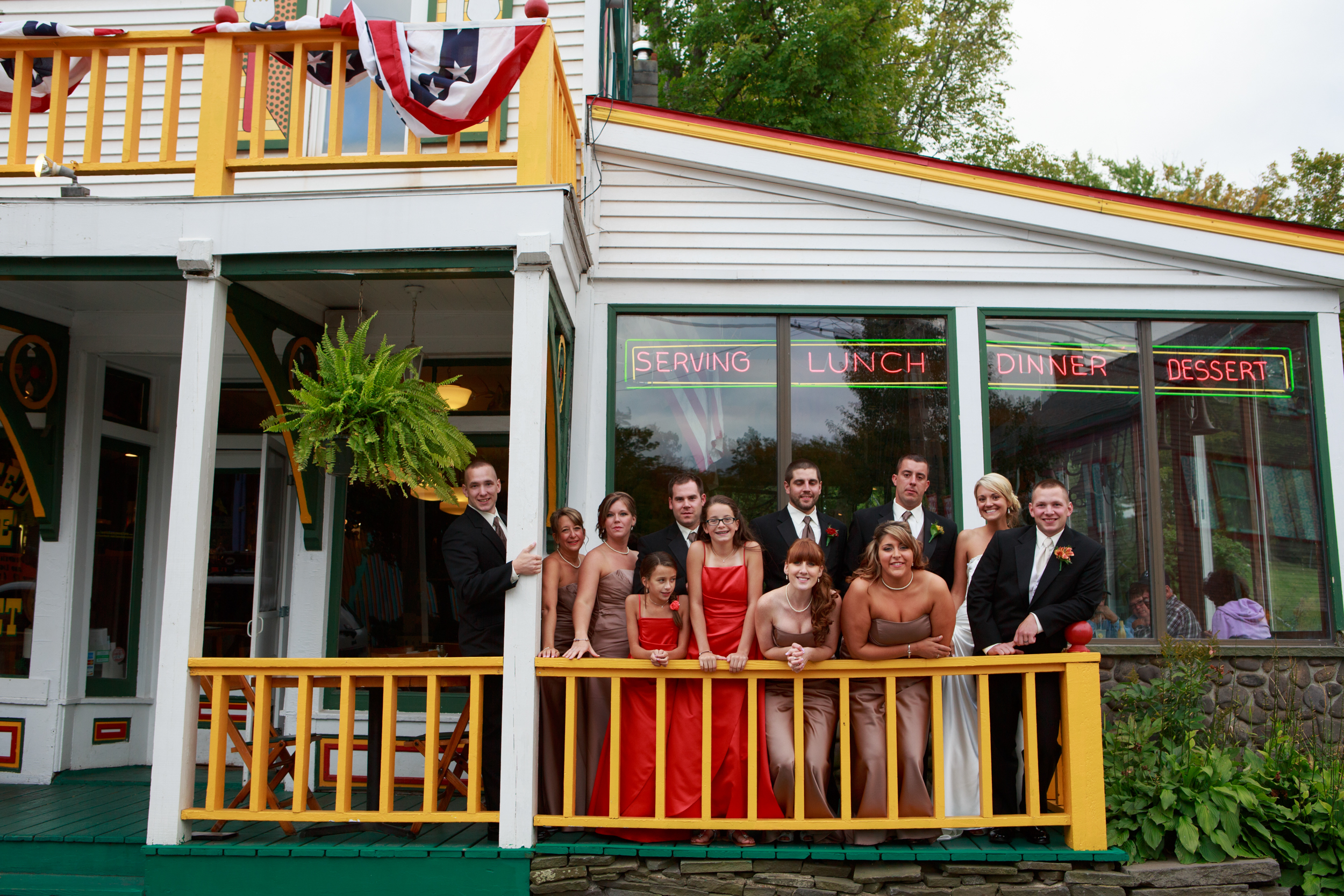 Wedding Party in Tannersville, NY