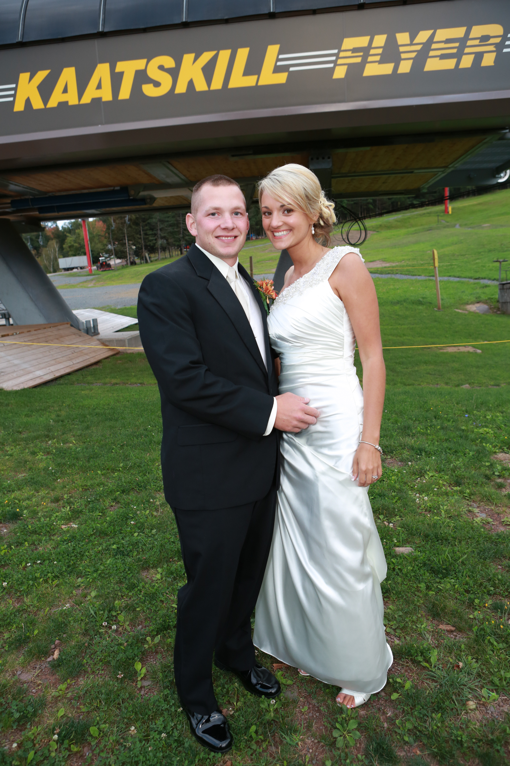Hunter Mount Wedding Portrait