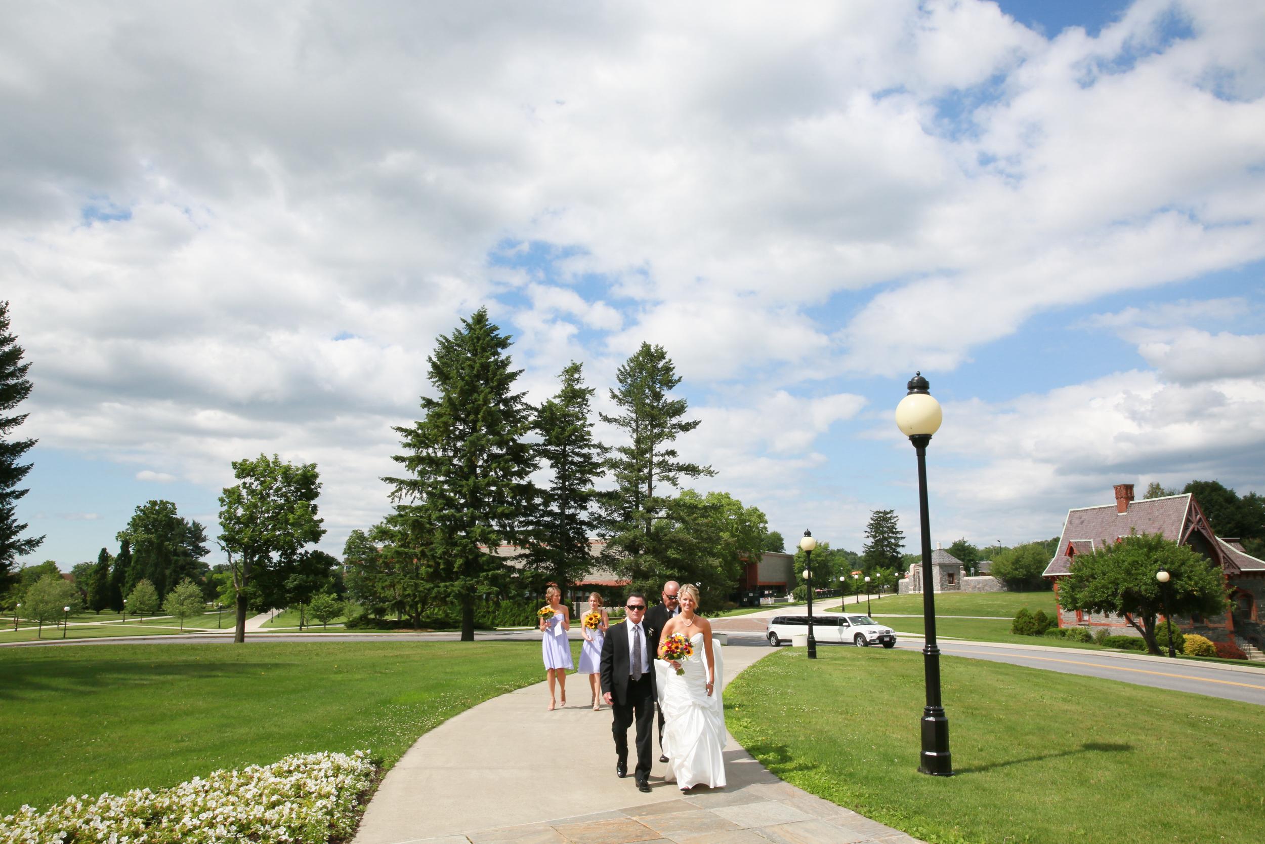 Vassar Collage Wedding