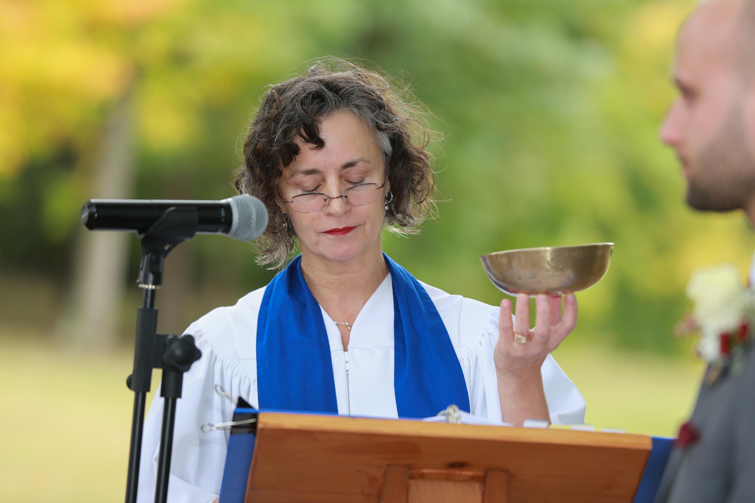 Ceremony in Hudson