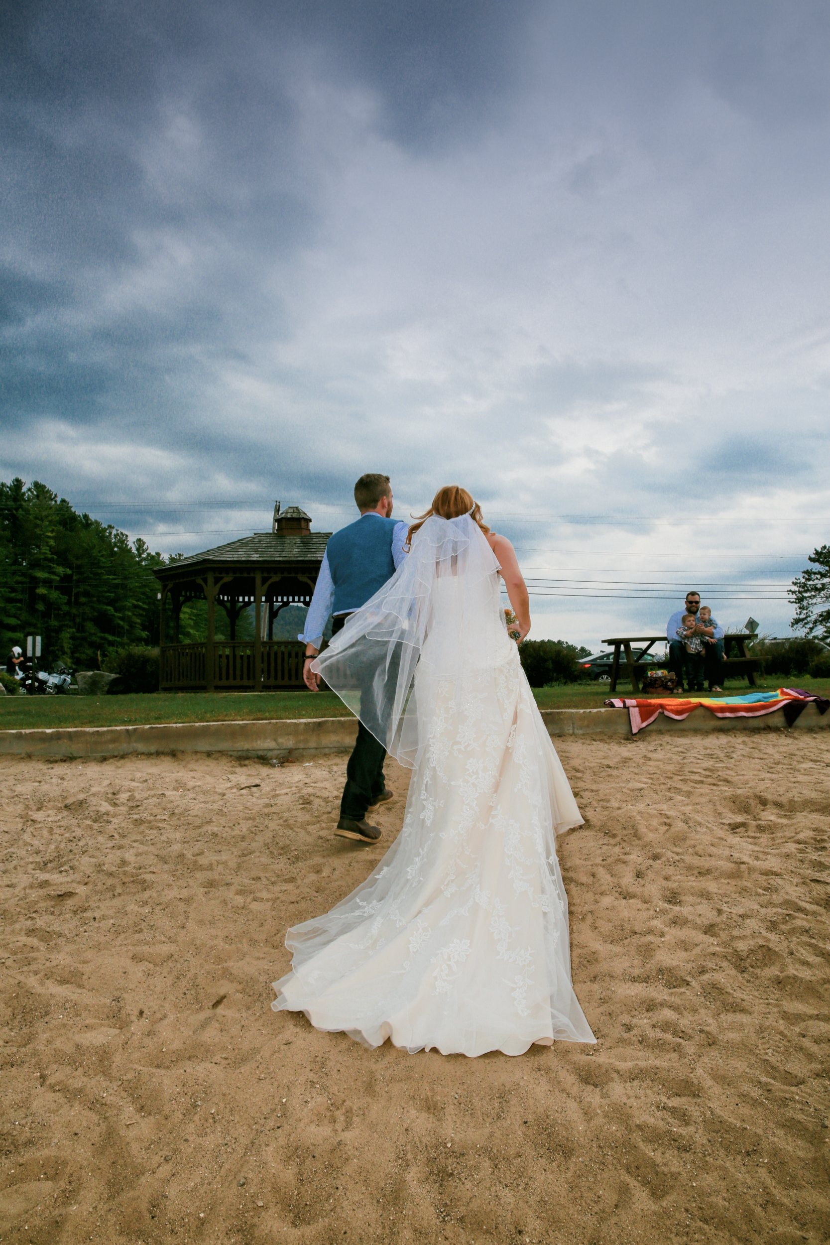Lake George Wedding Photograph