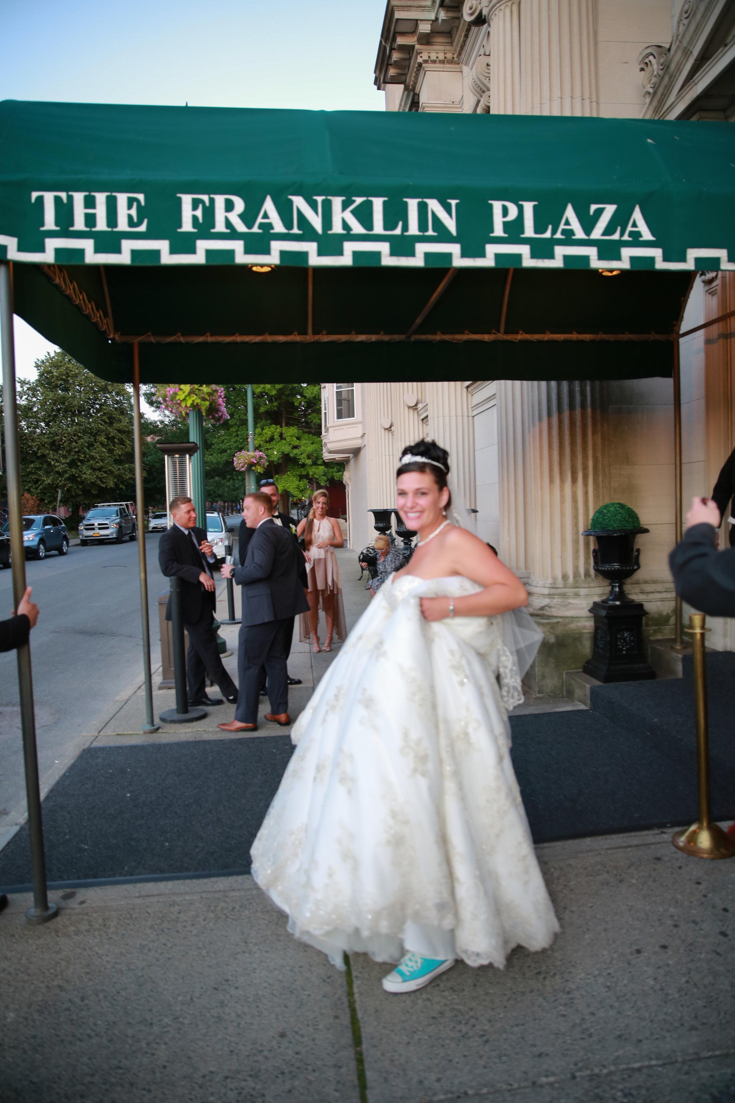 The Franklin Plaza in Schenectady