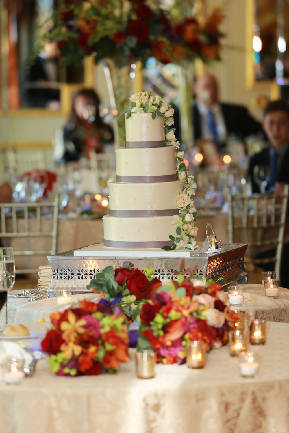Wedding Cake Photograph by Aperture Photography