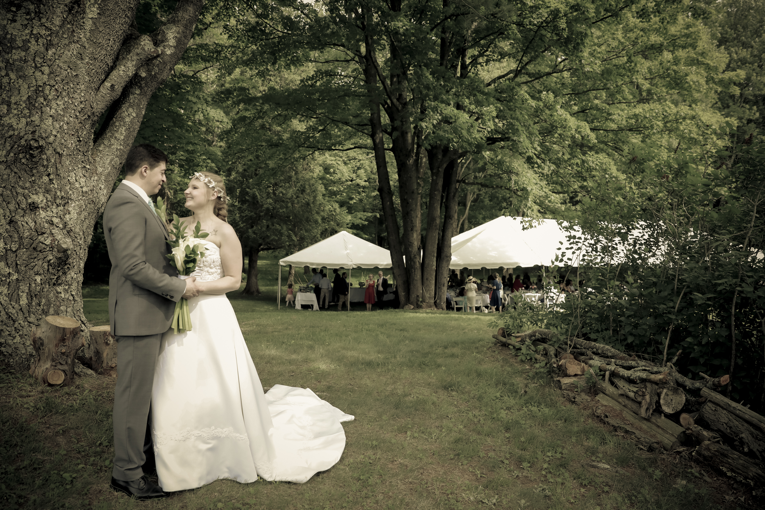 A perfect simple Saugerties country wedding