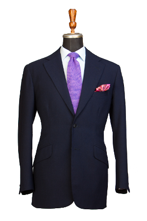 Bespoke Two-Piece Business Suit