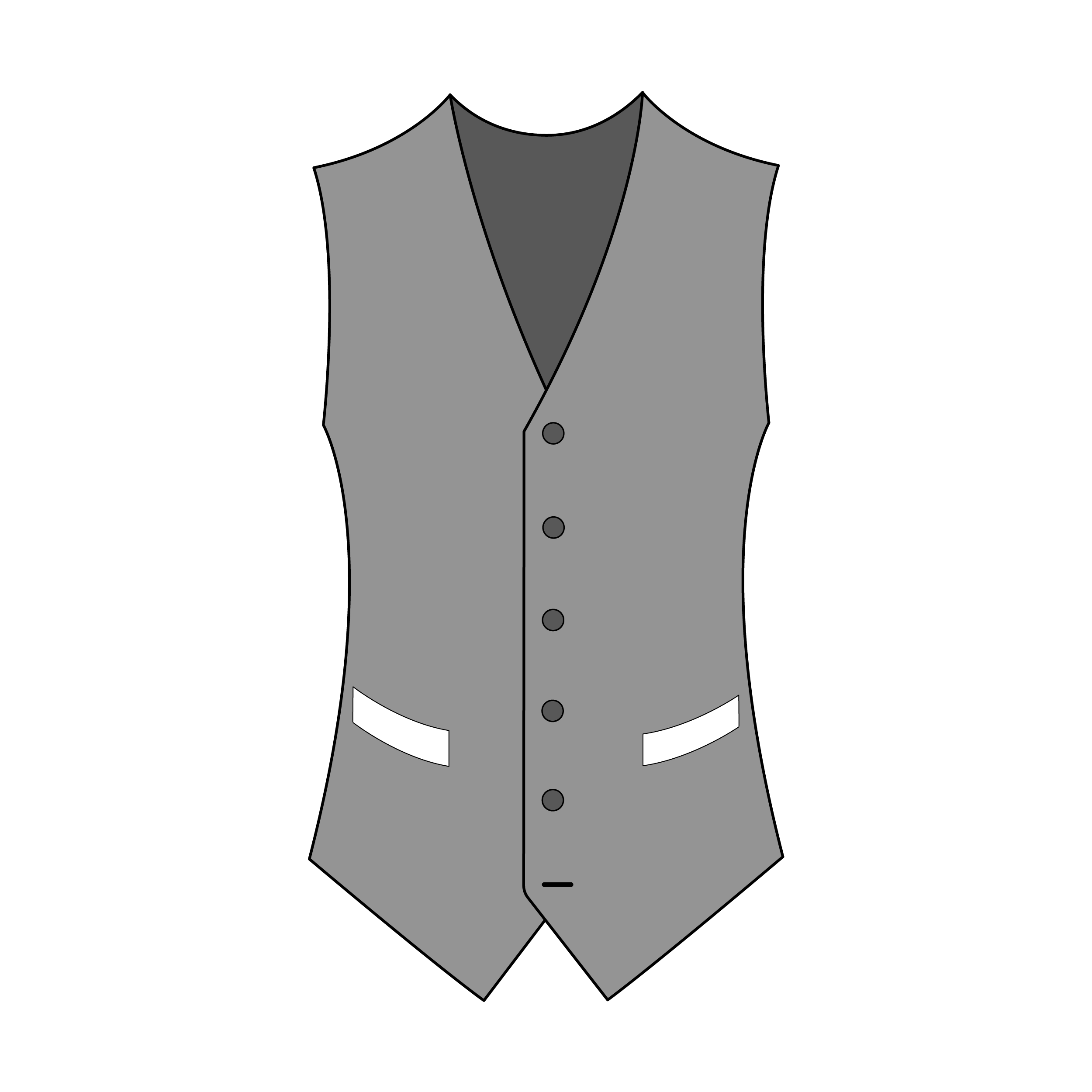 Single-Breast Two Pockets