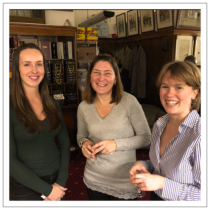 Tailors & Makers: Lena, Isobel & Daniella
