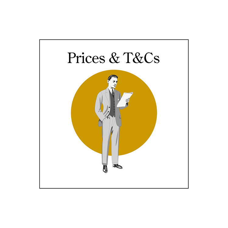 Prices & T&Cs