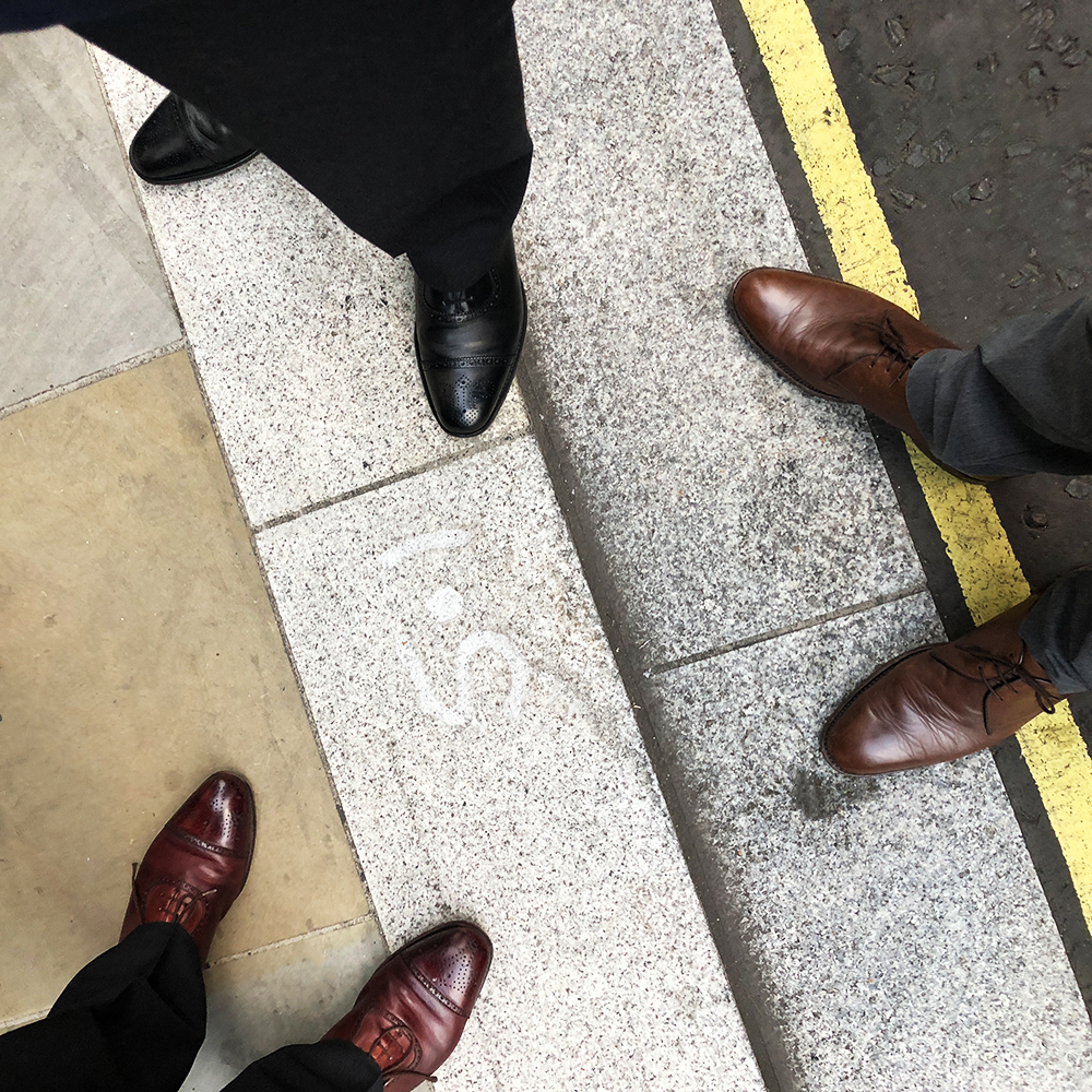 The shoes of Savile Row
