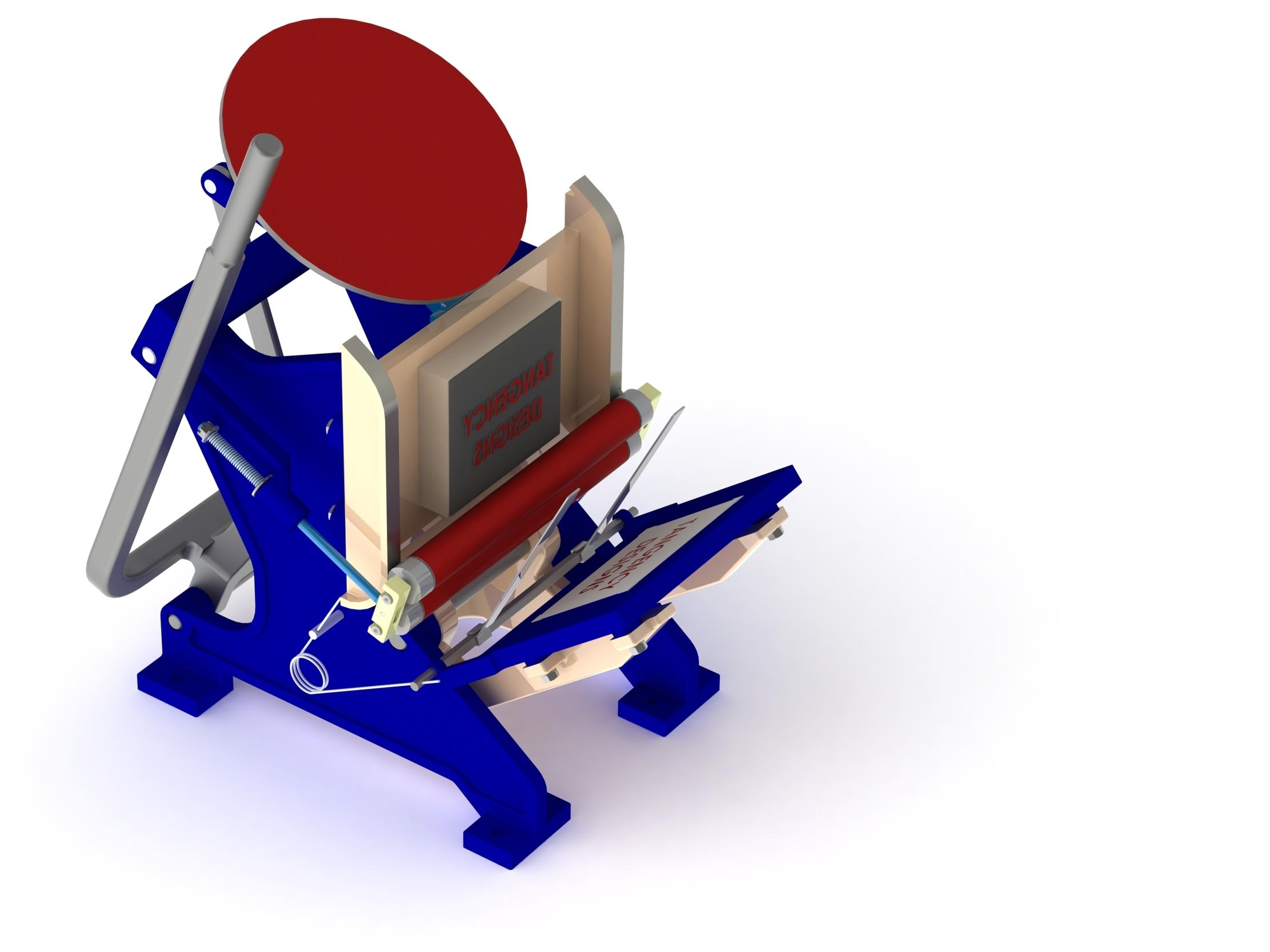 Letterpress 3D model