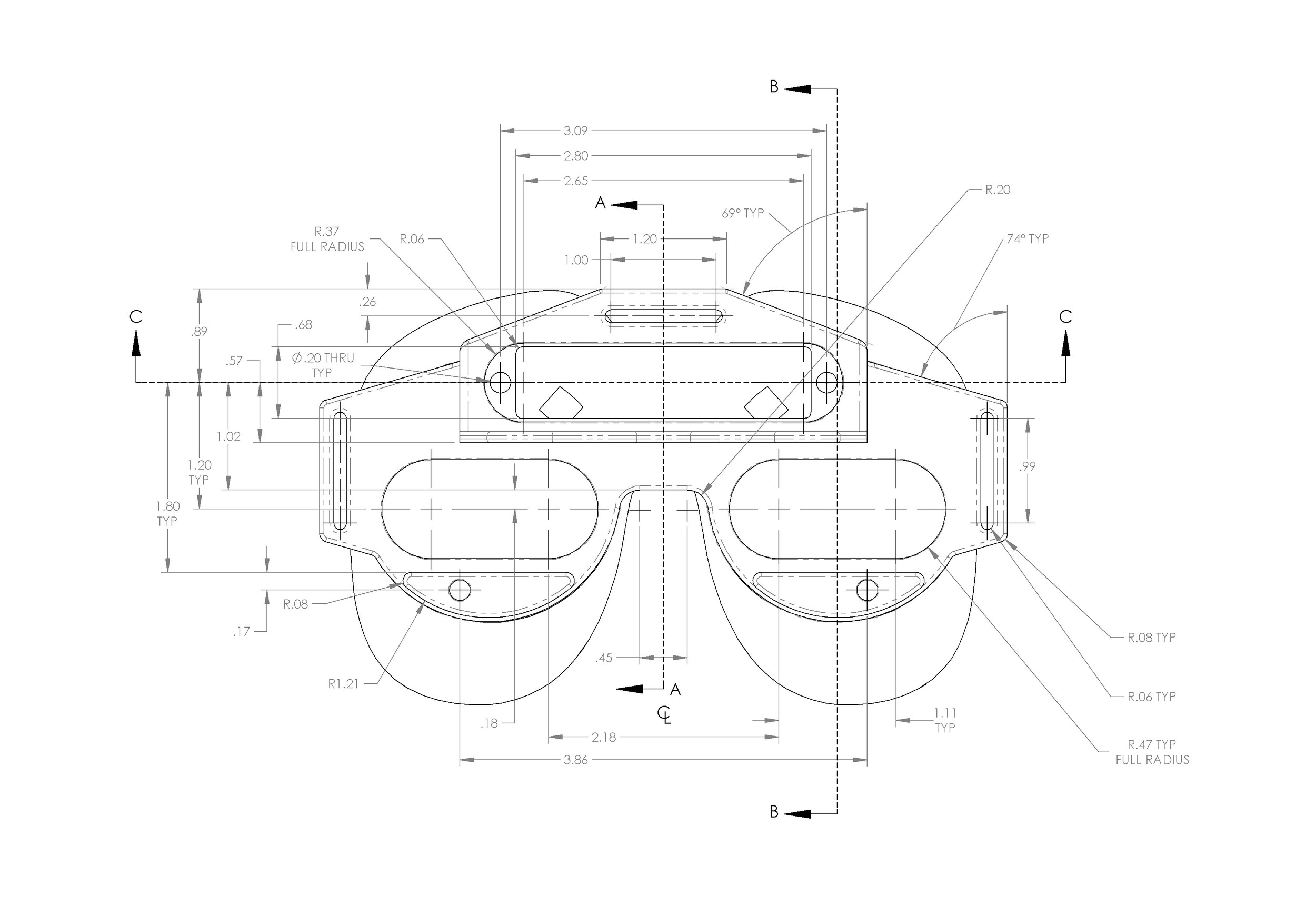Sample Blueprint Shop Drawing
