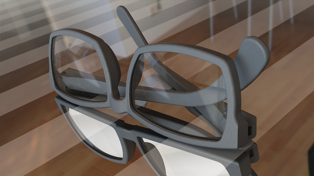 Custom 3D Modeled Glasses