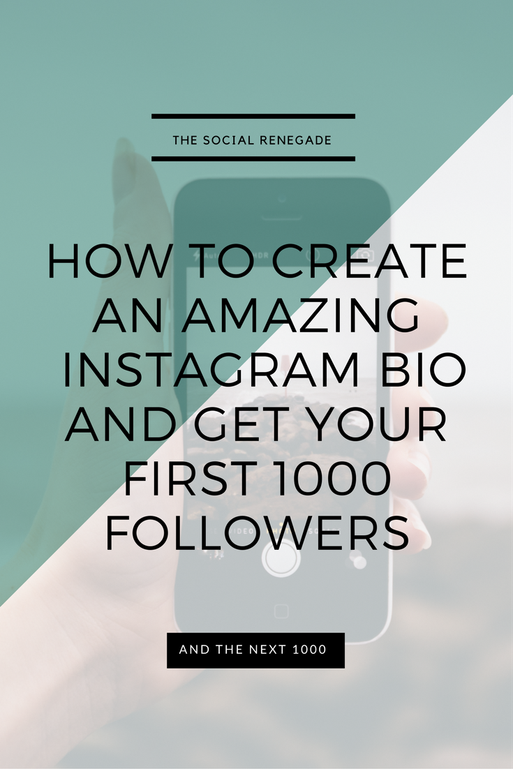 How To Create A Instagram Bio