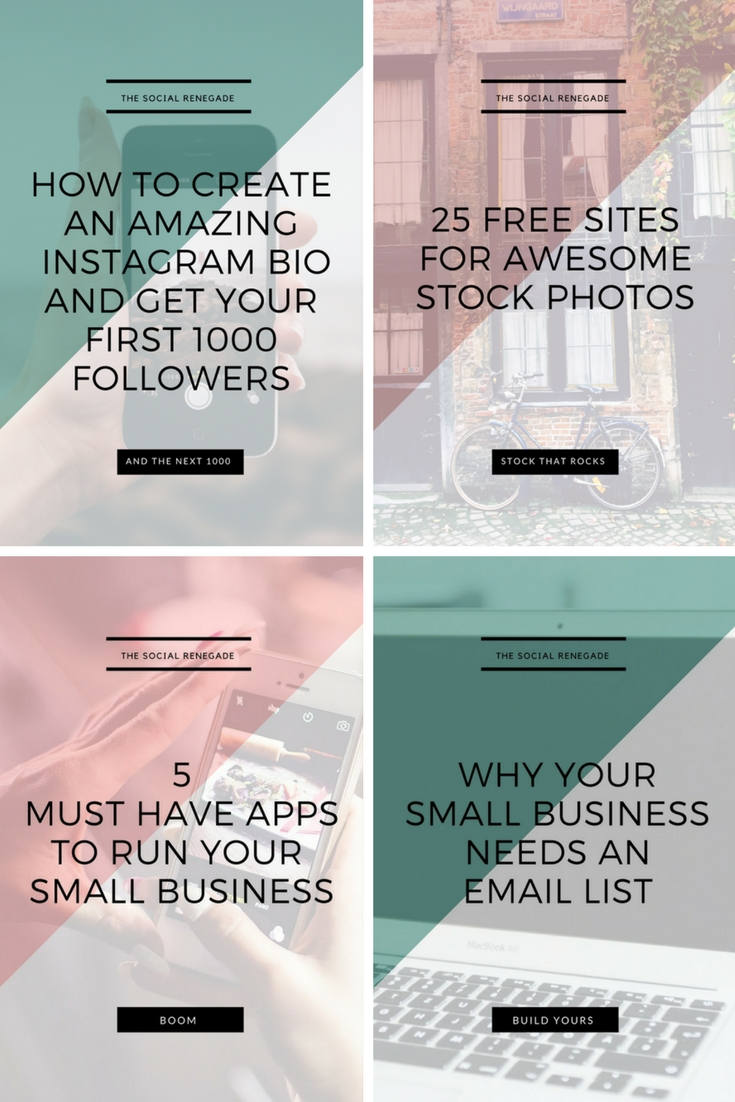 How To Make Pinterest Work For Your Small Business - Pinterest image examples.jpg