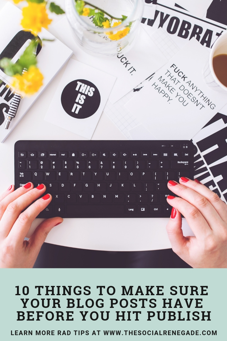 You need to be doing these tasks for each blog post of yours. Here are my top tips to absolutely make sure you are doing with every single blog post.