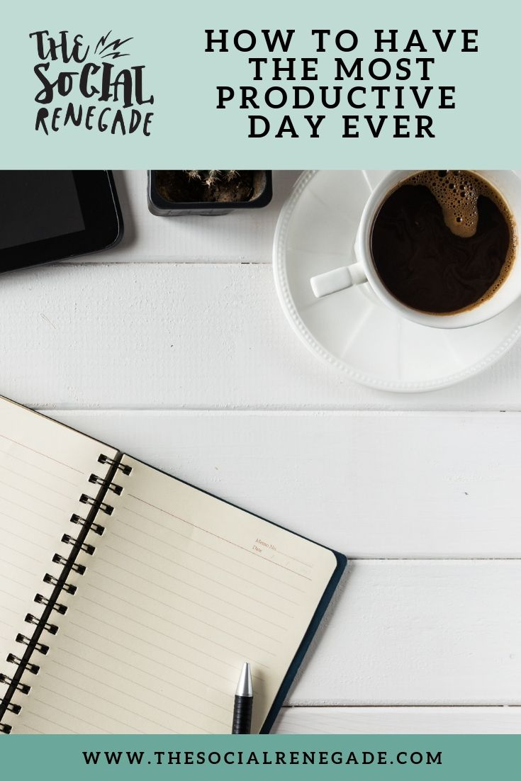 Running a business is hard work. My plate is full a lot of the time and is definitely not for everyone. Some days, you feel like you can do ANYTHING and others overwhelm hits you so hard, that you end up hiding and doing nothing. It is no surprise that productivity is essential to running a successful business so I want to share my top tips on how to have a more productive day.