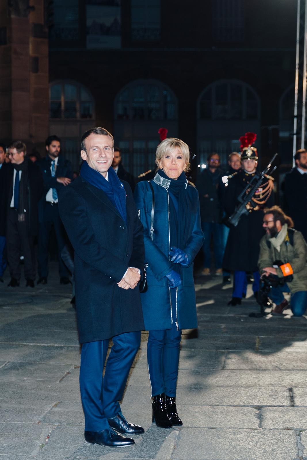 Emmanuel Macron et Brigitte