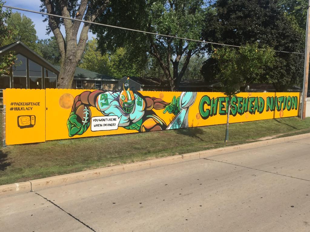 Hulk Lacy Packers Mural right outside Lameau Field.jpeg