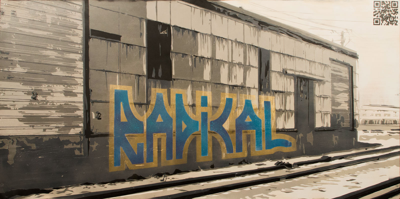 Train Yard Graffiti
