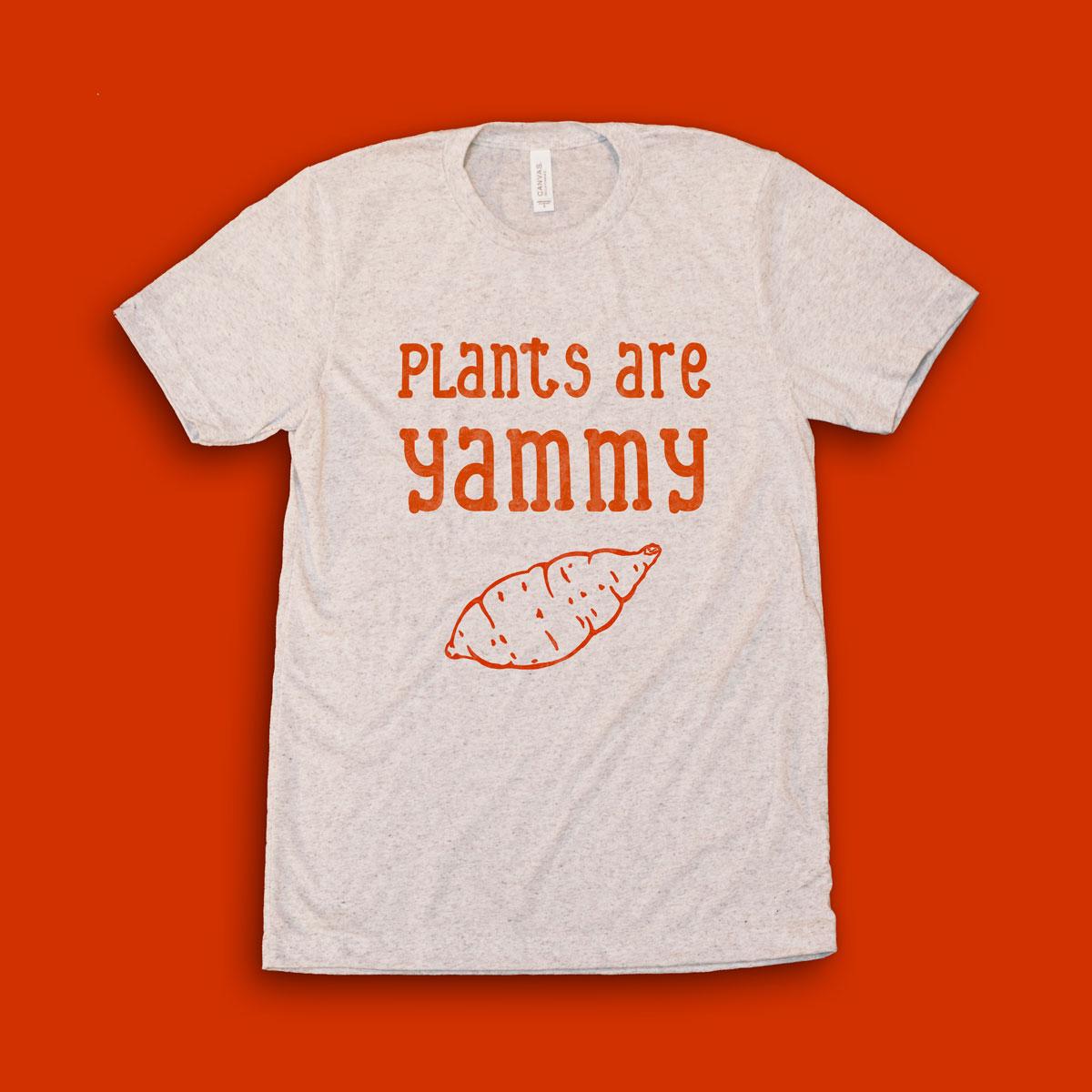 Planty-Good_Vegan-Clothing_Plants-Are-Yammy_Tee_front.jpg