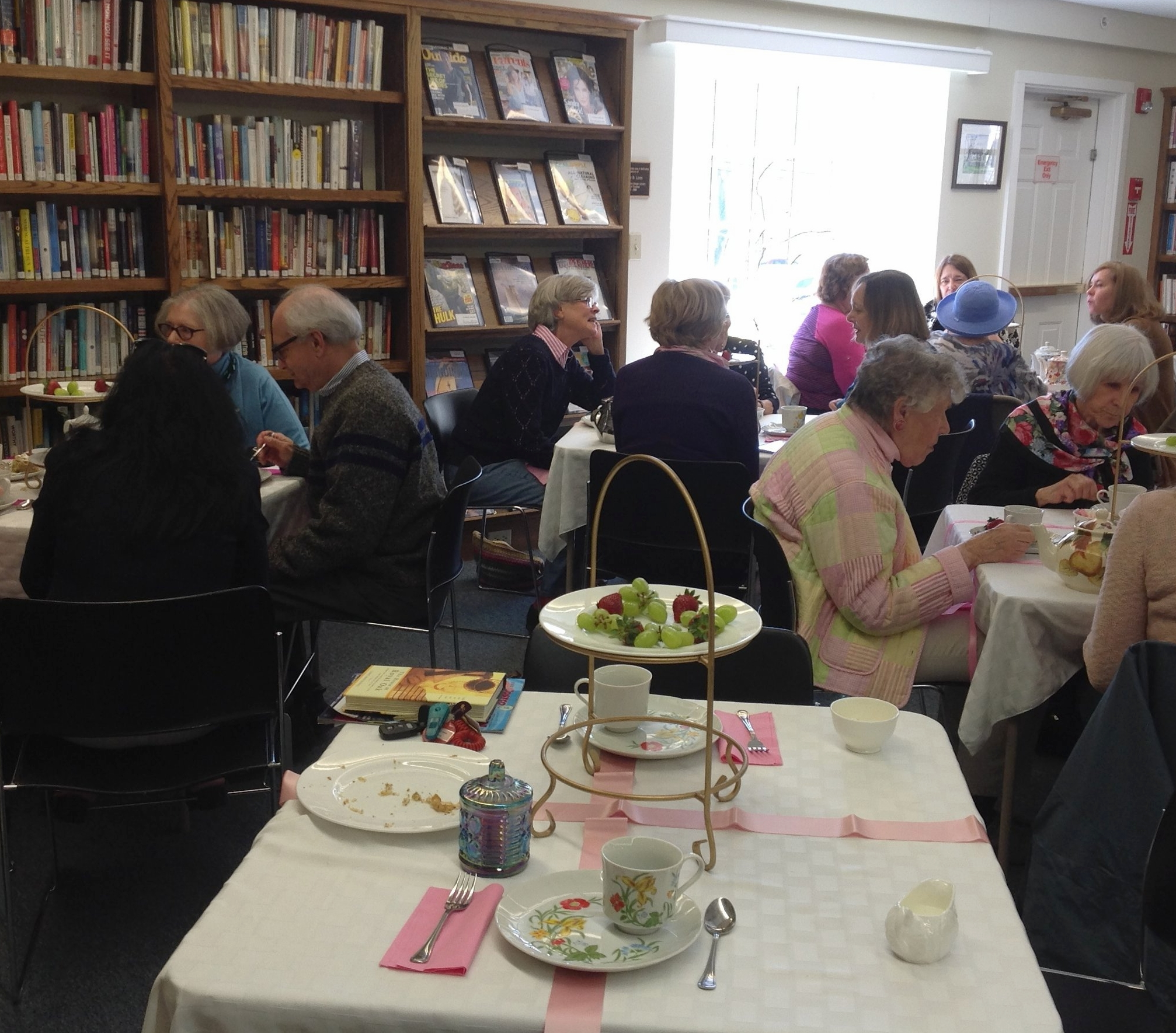 French Impressionist's Tea at Sturgis Library (photo by Antonia Stephens)