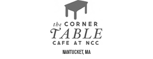 The Corner Table at NCC Nantucket, MA