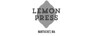 Lemon Press Nantucket, MA