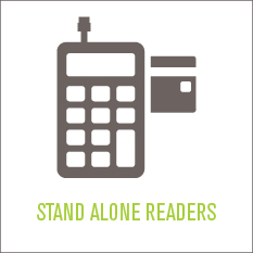 Stand Alone Credit Card Readers