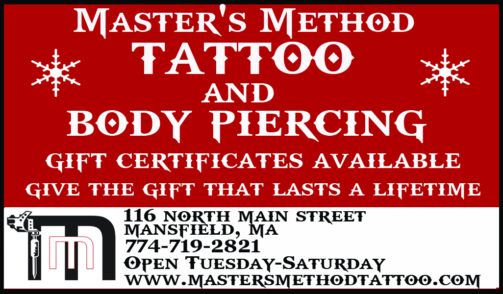 Master's Method Tattoo & Body Piercing Gift Certificate