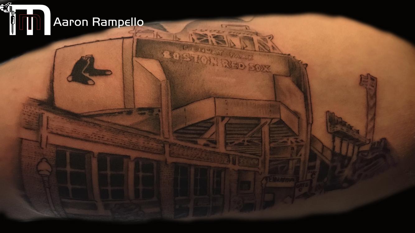 red sox fenway tattoo Master's Method Tattoo.jpg