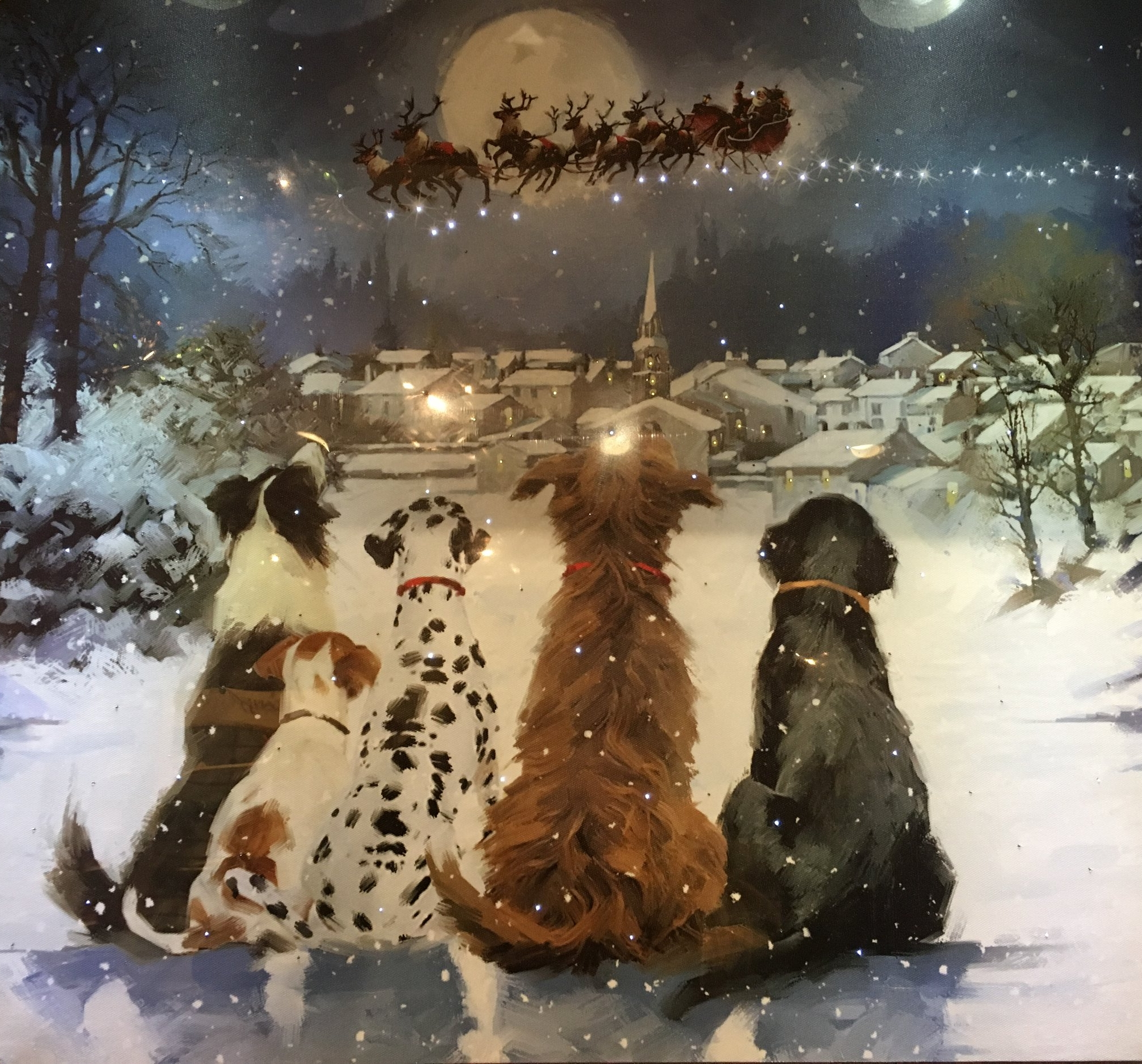 Dogs and Christmas