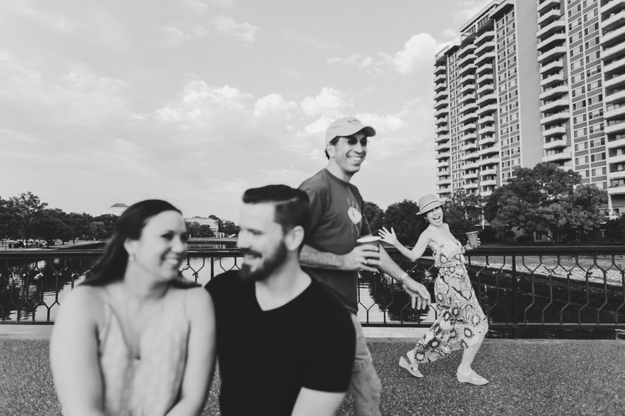 Hague Bridge Engagement Session - Of Fate and Chaos - Norfolk Virginia Wedding Photography
