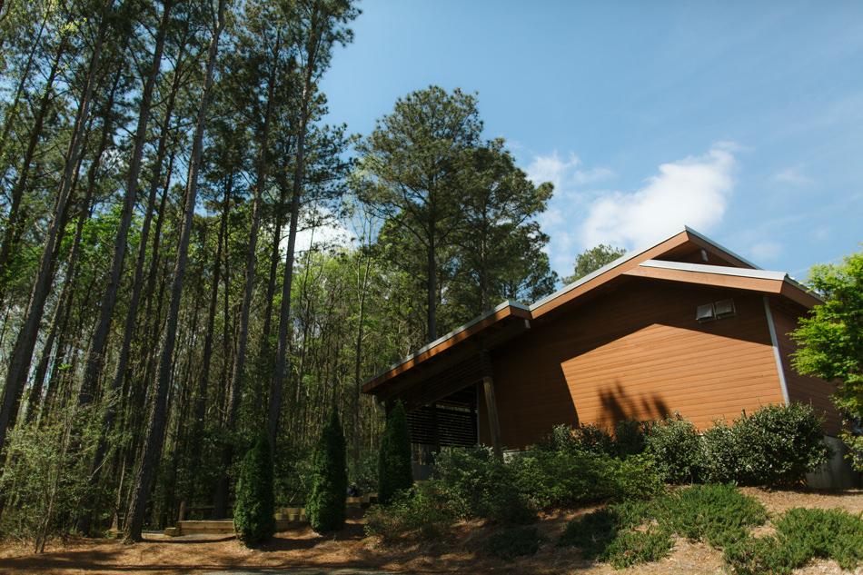 The Ridge Pavilion at US National Whitewater Center