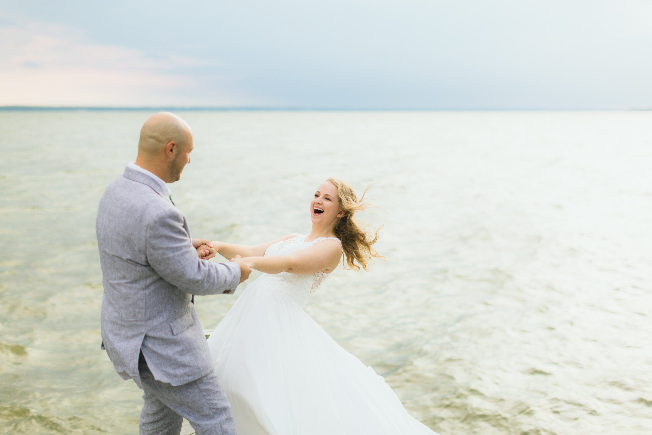 COASTAL VIRGINIA - With literally thousands of miles of Virginia coastline, there's so many cool, private locations to choose from. Elopements at the Virginia Coast are tranquil, fun, and carefree.