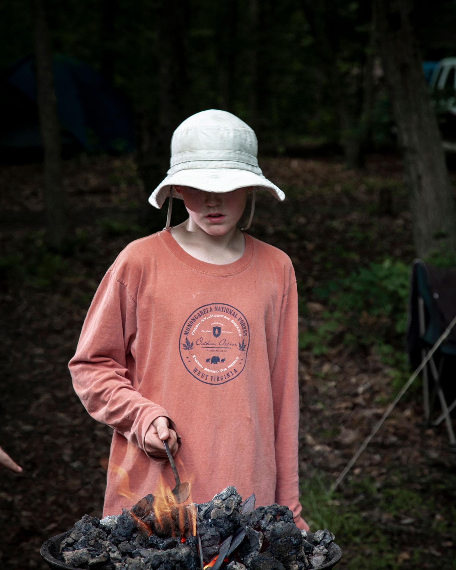Benjamin C Tankersley —Primitive Survival Camp