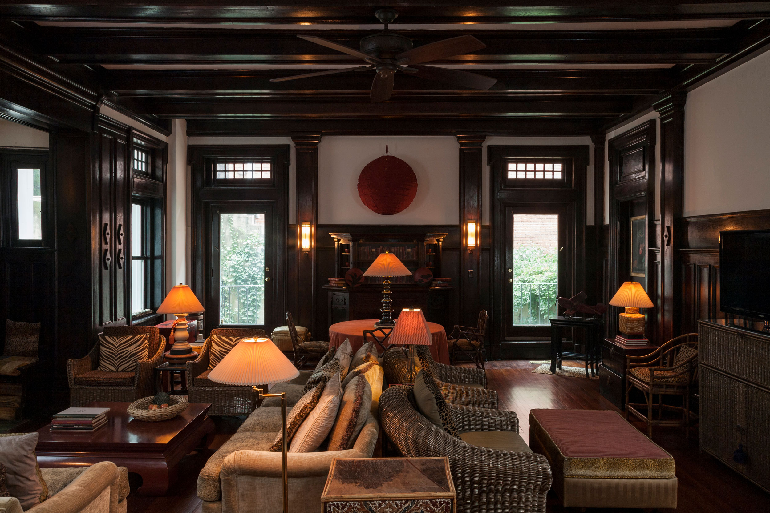 Audrey Bender's Living room in the former Qing Legation
