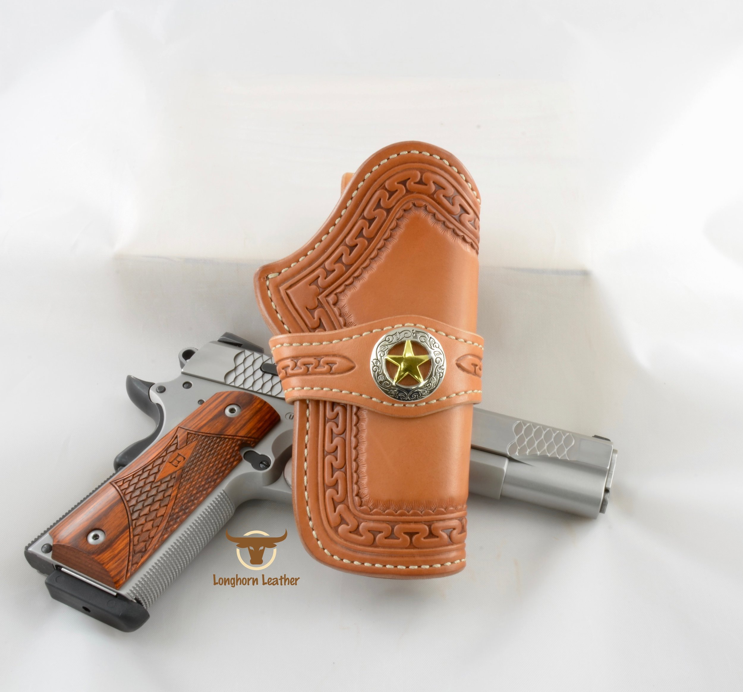 Yuma - 1911 Government Holster (with band)