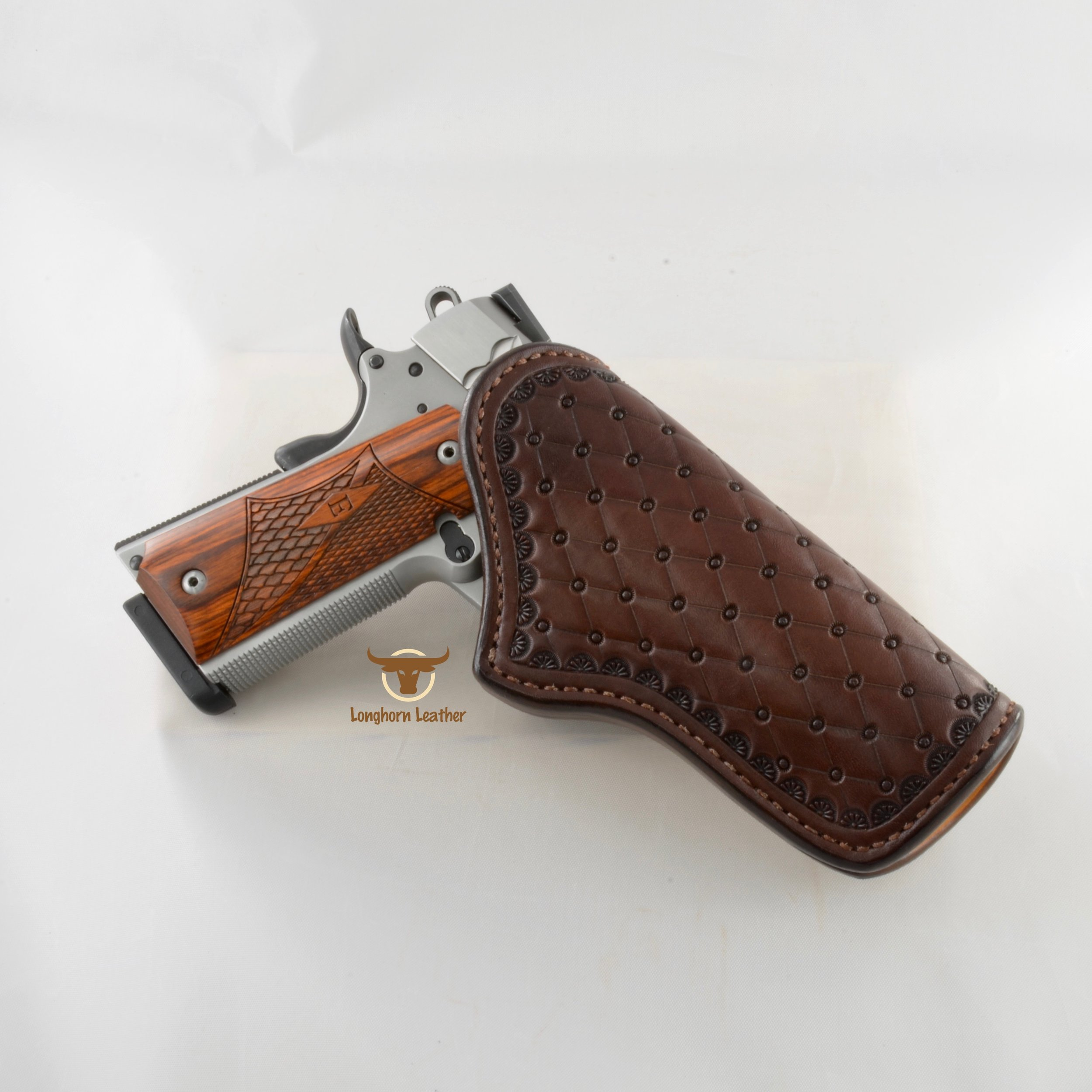 Longhorn Leather AZ - 1911 Holster featurng the %22San Carlos%22 design 2 2.jpg