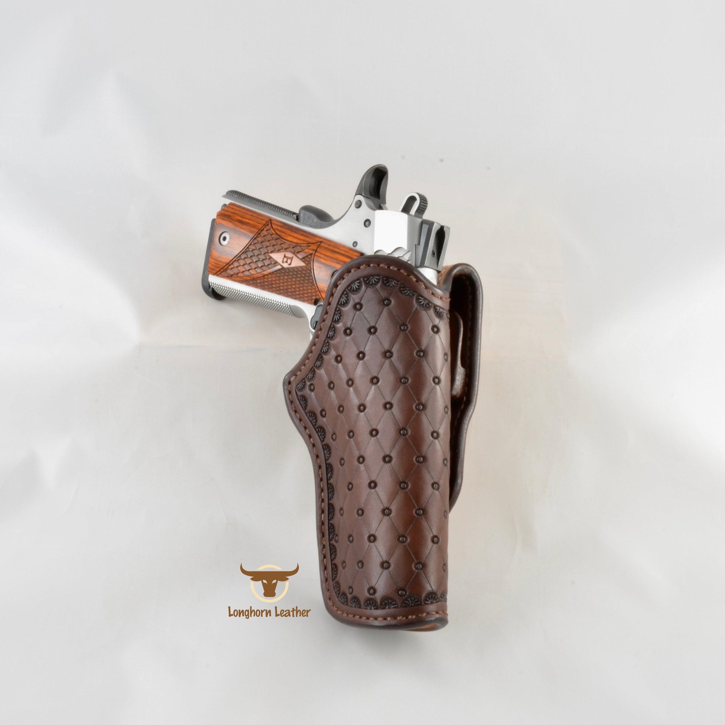 Longhorn Leather AZ - 1911 Holster featurng the %22San Carlos%22 design 4.jpg