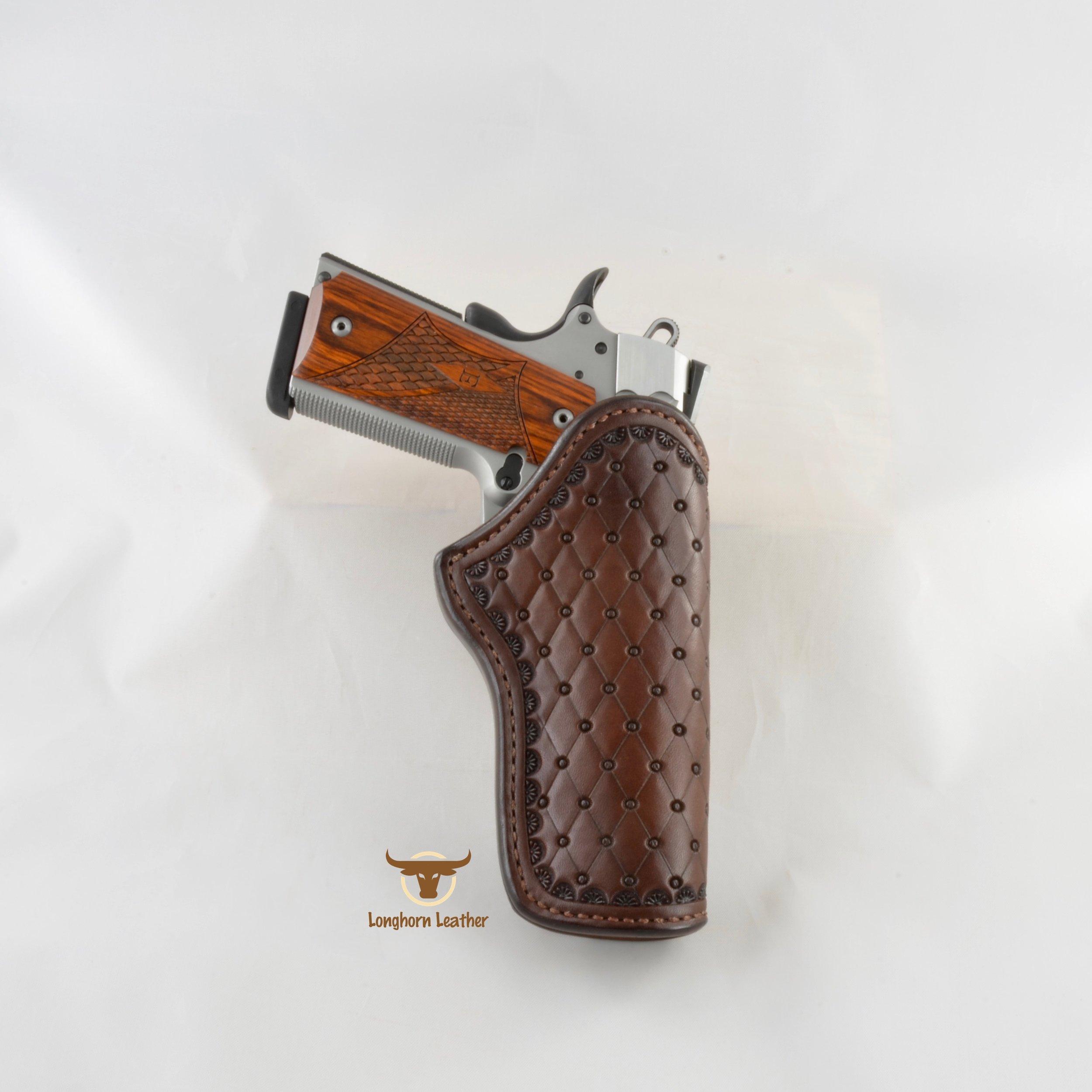 Longhorn Leather AZ - 1911 Holster featurng the %22San Carlos%22 design 3.jpg