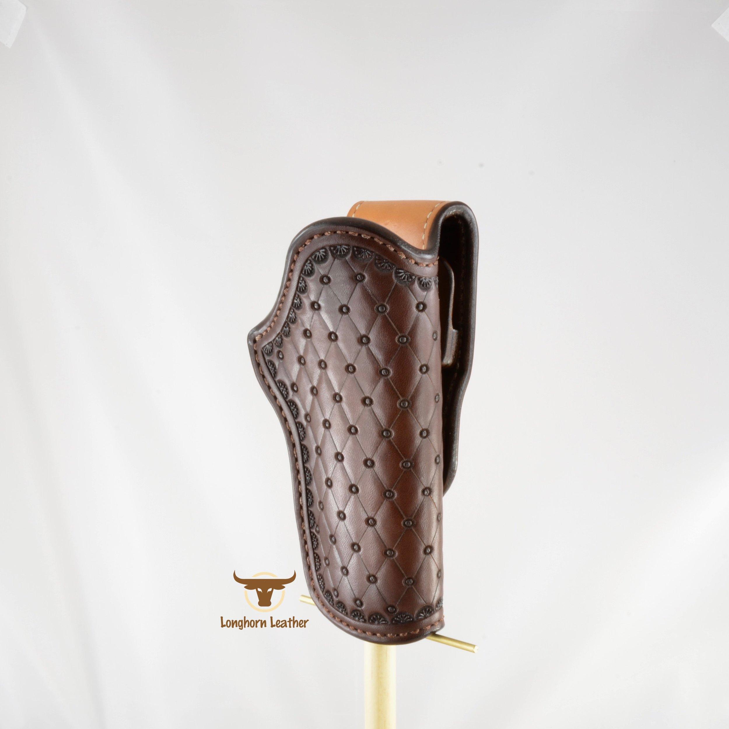 Longhorn Leather AZ - 1911 Holster featurng the %22San Carlos%22 design 6.jpg