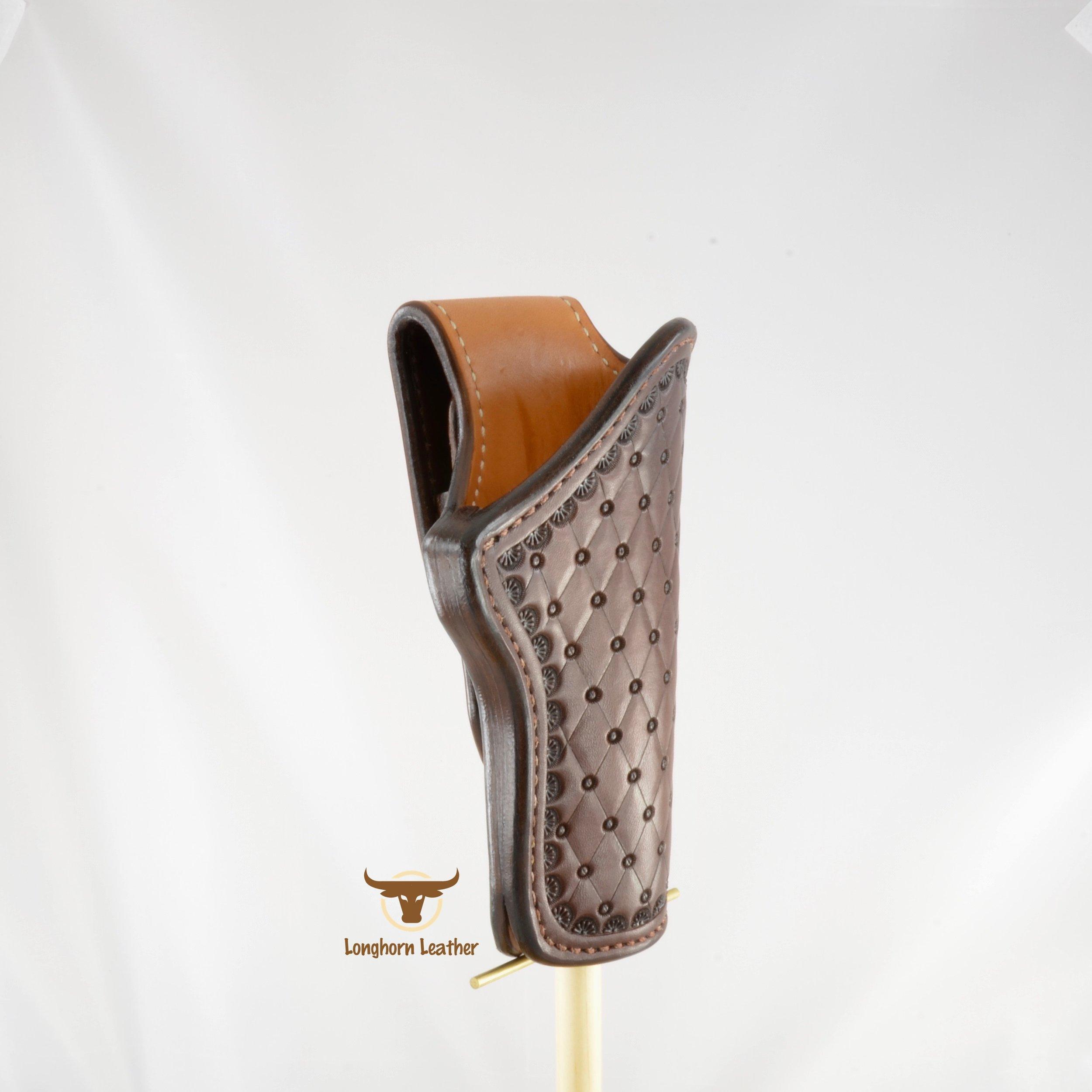 Longhorn Leather AZ - 1911 Holster featurng the %22San Carlos%22 design 10.jpg