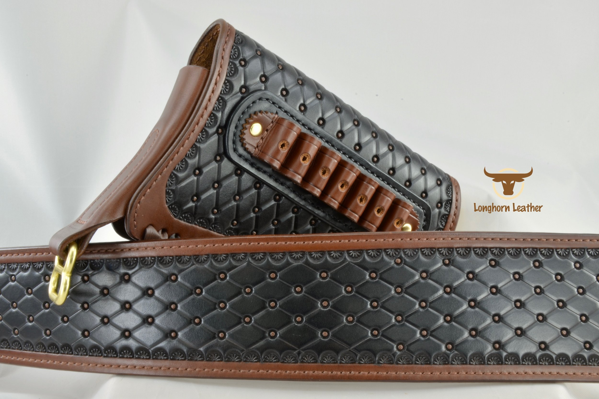 "Henry ""Big Boy"" gunstock cover & rifle sling featuring the ""San Carlos"" design."