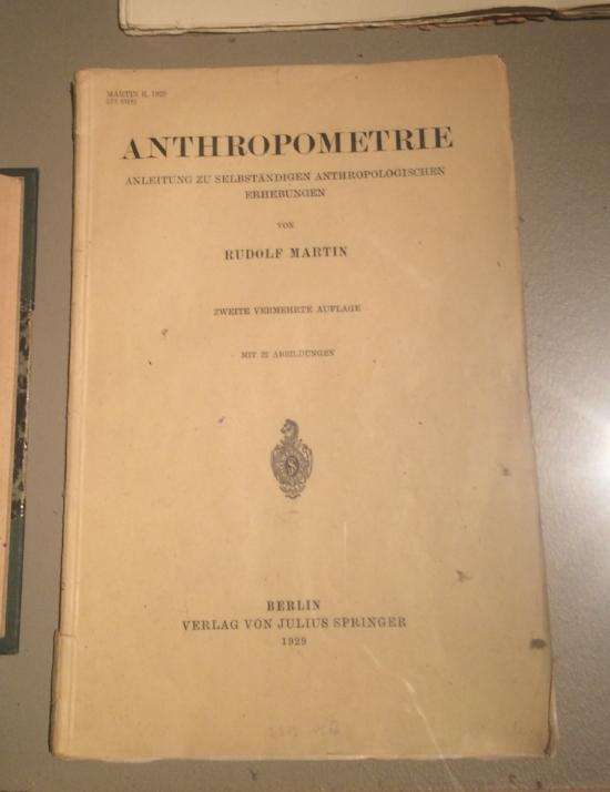 'Anthropometry'