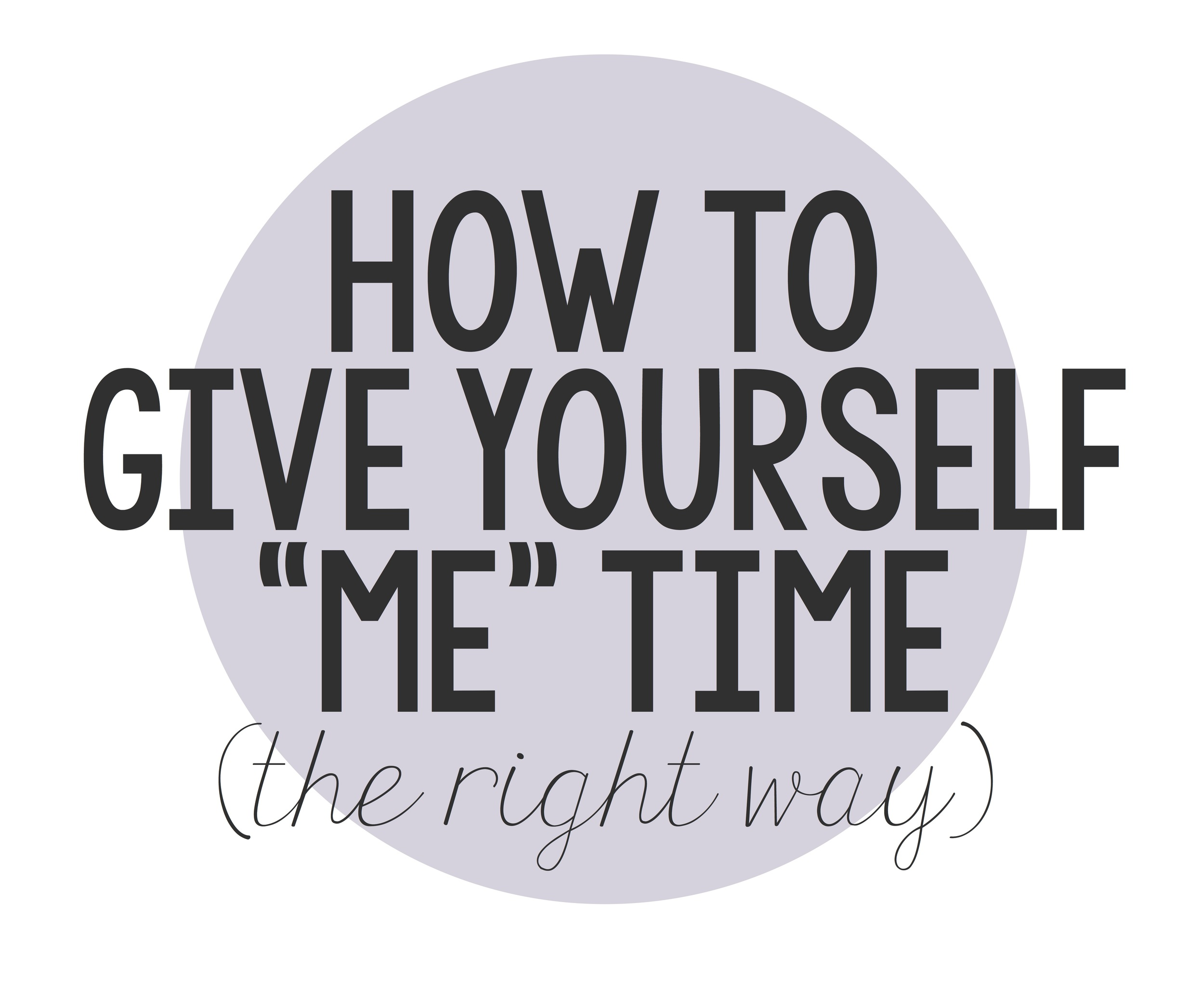 Become happier and more relaxed as you follow these tips for making time for yourself.