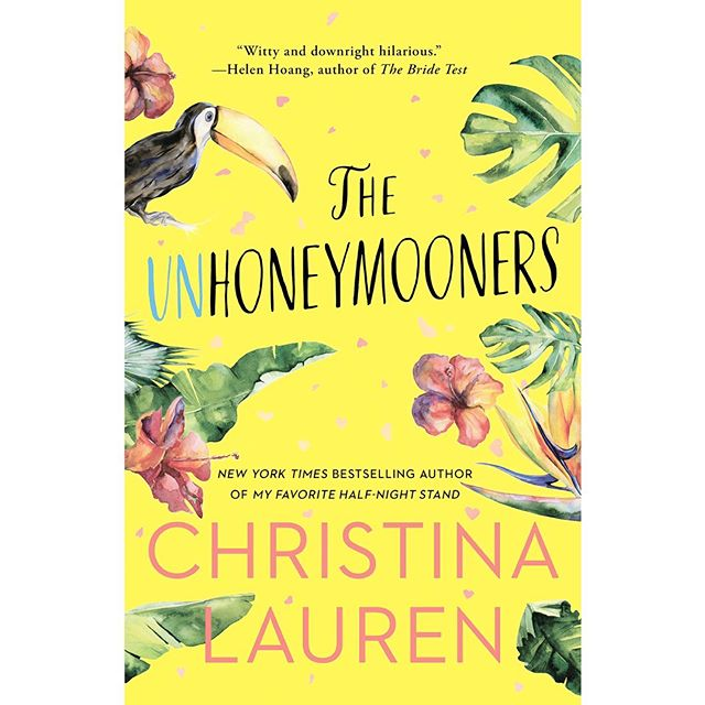 The Unhoneymooners by Christina Lauren (fiction) *** Two rivals end up on a prepaid, no-refunds honeymoon when the bride and groom get food poisoning. The best way I can describe this book is that it's like a romantic comedy you probably wouldn't want to watch with your grandma or teenage daughter. 🤷🏼‍♀️ Not wildly inappropriate, but inappropriate enough. Also, not a work of art by any means, but a fun story just the same. I thought the whole thing took a weird turn about 2/3 of the way through; I thought it made the main story a lot less effective and kind of brought the whole book down. But if you want something mostly fun and romantic, you could do worse than this book. *** Chick-lit fiction complete with an enemies-to-lovers trope, snarky dialogue, and some really funny scenes. Moderate strong language and sexual content.  #whatthekatiereads