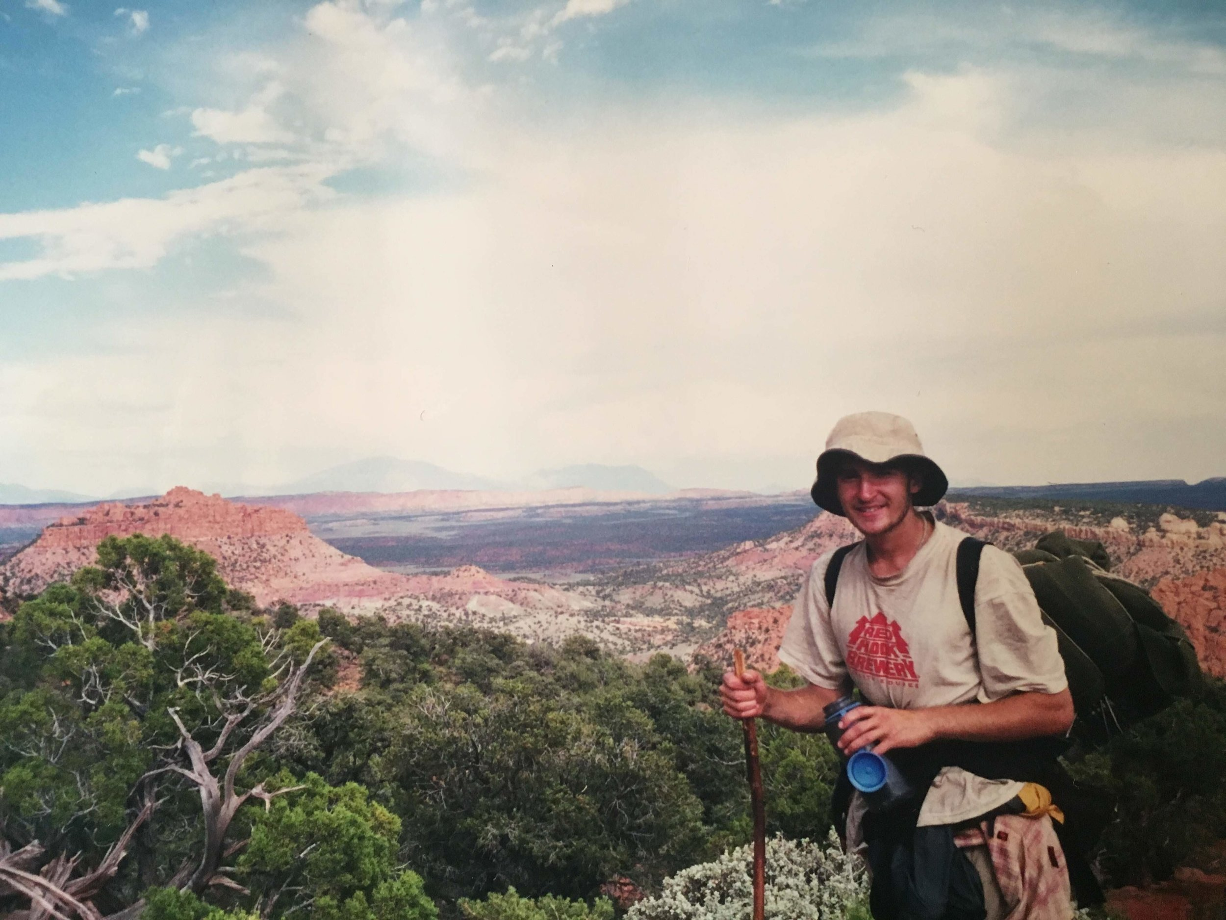 View of the Utah desert.