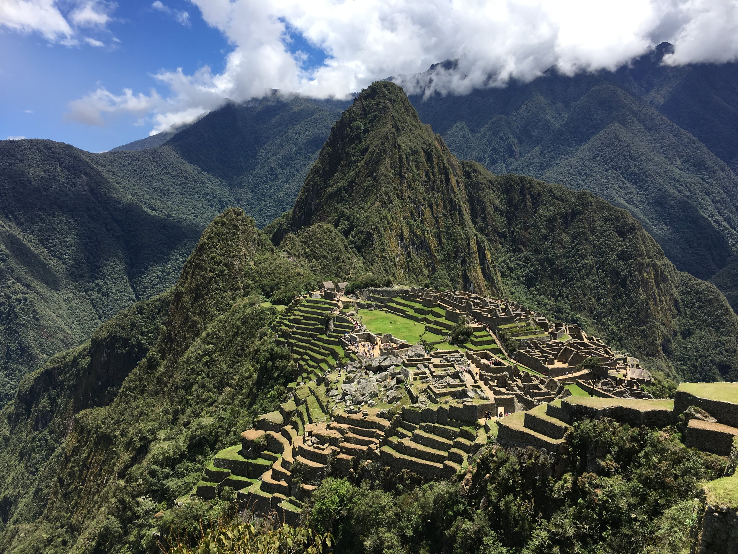 Machu Picchu - The lost city in the mountains.
